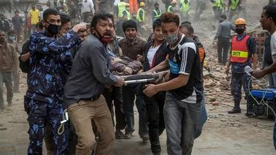 News video: Nepal Earthquake: Extensive Destruction, Rising Death Toll